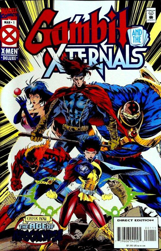 Gambit & The X-Ternals #1 (1995)