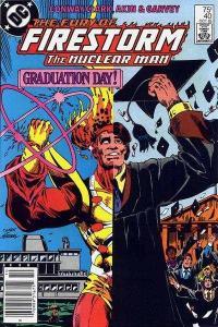 Fury of Firestorm (1982 series) #40, NM- (Stock photo)