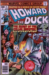 Howard the Duck #6 - 1st Series - 9.0 or Better