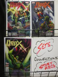 Drax (Marvel 2016) #1-3 Guardians of the Galaxy Member by CM Punk & Cullen Bunn