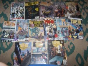 top 10 comics # 1 2 3 4 6 8 9 10 12 + beyond farthest alan moore  ABC AMERICAS B