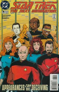 Star Trek: The Next Generation #76 VF/NM; DC | save on shipping - details inside