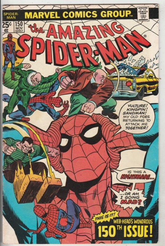 Amazing Spider-Man #150 (Nov-75) FN Mid-Grade Spider-Man