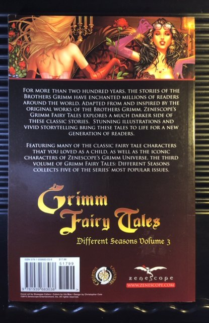 Grimm Fairy Tales: Different Seasons Volume #3 (2013)