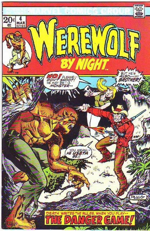 Werewolf by Night #4 (Mar-73) NM- High-Grade Werewolf