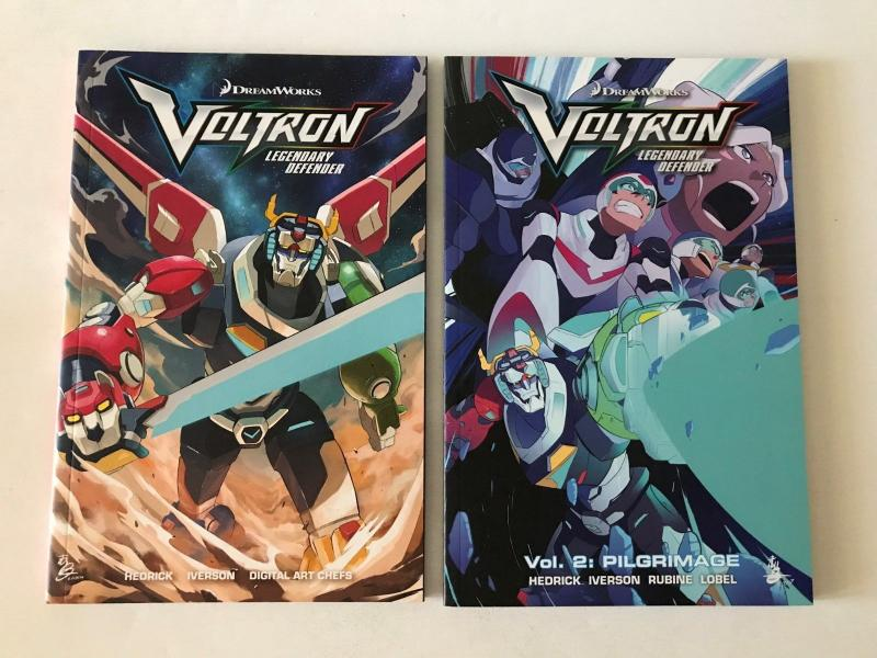 Voltron: Legendary Defender Volumes 1 & 2 (Lion Forge) - tpb - new