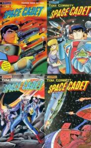 TOM CORBETT SPACE CADET (1990 ET) 1-4  Complete Series! COMICS BOOK