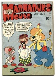 Marmaduke Mouse #13 1949- Golden Age Funny Animals VG-