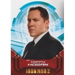 2010 Upper Deck Iron Man 2 Movie Die-Cut Actors Gallery HAPPY HOGAN AH8