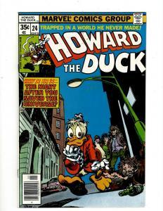 Lot of 8 Howard the Duck Marvel Comic Books #24 25 26 27 28 29 30 31 GK18