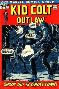 Kid Colt Outlaw #159, VF- (Stock photo)