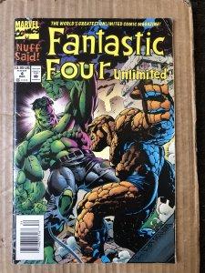 Fantastic Four Unlimited #4 (1993)