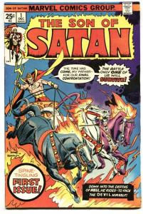 Son of Satan #1 1975- Marvel Bronze Age FN