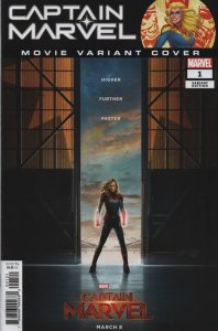 Captain Marvel #1 Movie Variant Cover