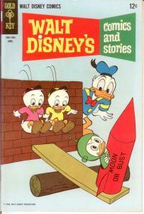 WALT DISNEYS COMICS & STORIES 331 VF April 1968 COMICS BOOK