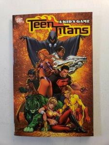 TEEN TITANS A KIDS GAME TPB SOFT COVER 3RD PRINT DC GRAPHIC NOVEL VF+