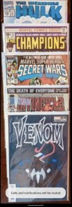 AMAZING 5 BOOK LOT. HOT TITLES ALL VF/NM. WELL WORTH IT!!