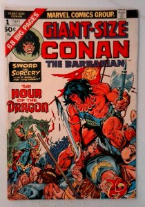 Giant Size Conan #1 Marvel 1974 VG/FN Comic Book Key 1st Appearance Cameo Belit