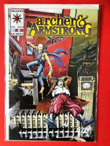 ARCHER & ARMSTRONG V1 #10 1990's VALIANT /  HIGH QUALITY