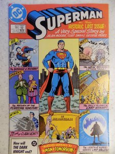 SUPERMAN # 423 LAST ISSUE