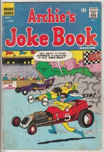 Archie's Joke Book #105 (Oct-66) FN- Mid-Grade Archie, Betty, Veronica, Reggi...
