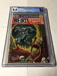 Weird Western Tales 12 Cgc 8.0 White Pages