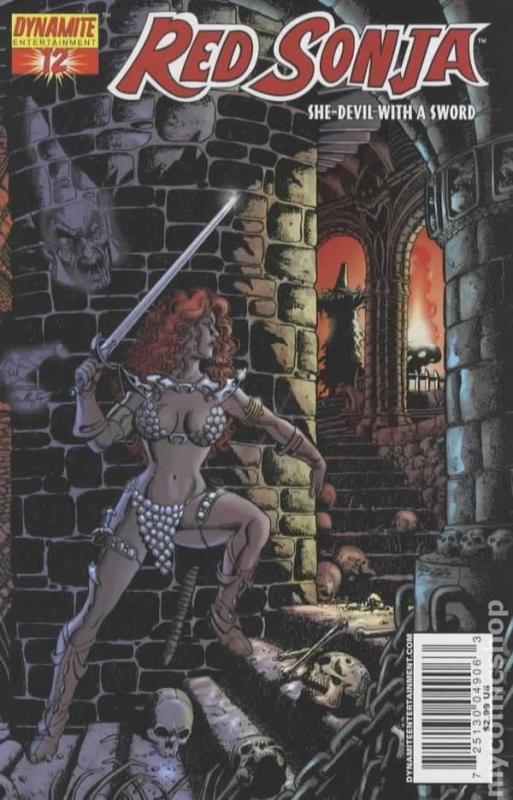 Red Sonja #12 (Dynamite) - George Pérez Cover