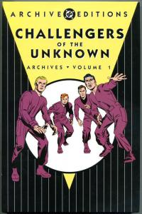 CHALLENGERS of the UNKNOWN ARCHIVES 1 hc, VF+, 2003,hardcover book w/dj, DC, 1st