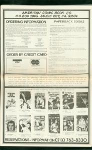 AMERICAN COMIC BOOK CO-PAPERBACK CATALOG #2-PHOTOS-'79 FN