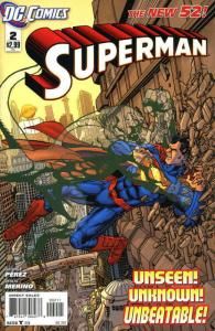 Superman (3rd Series) #2 VF/NM; DC | save on shipping - details inside