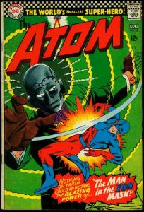 The Atom #25 1966- Man in the Ion Mask- Gil Kane VG+