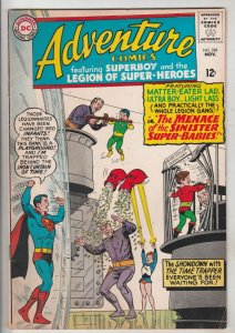 Adventure Comics #338 (Nov-65) FN/VF Mid-High-Grade Legion of Super-Heroes, S...