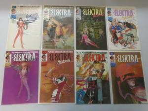 Elektra Assasin set #1-8 8.0/VF (1986)