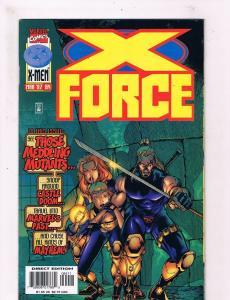 X-Force #64 VF 1st Print Marvel Comic Book Wolverine X-Men DE3
