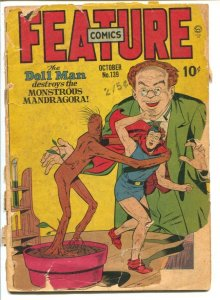 Feature Comics #139 1947- Quality-DOLL MAN-Groot prototype-P