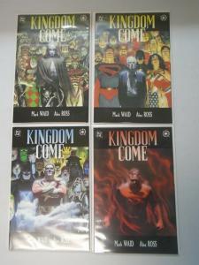 Kingdom Come set #1-4 7.0 FN/VF (1996)