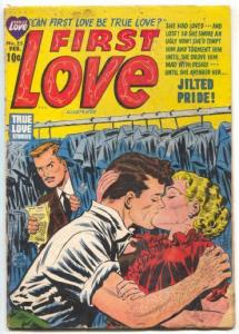 First Love Illustrated #25 1953- Jilted Pride- Golden Age VG-