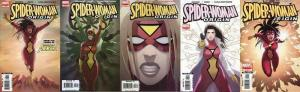 SPIDERWOMAN ORIGIN (2006) 1-5  the COMPLETE series!