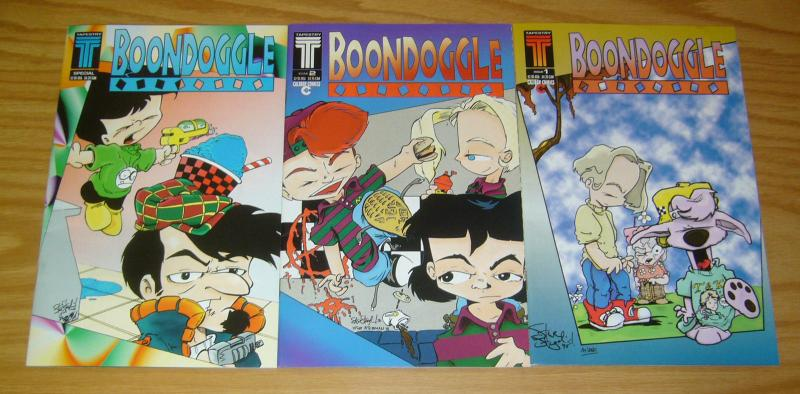Boondoggle vol. 2 #1-2 VF/NM complete series + special - tapestry/caliber comics