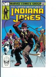 Indiana Jones - Bronze Age - . 1983 January., (VF+) No. 1