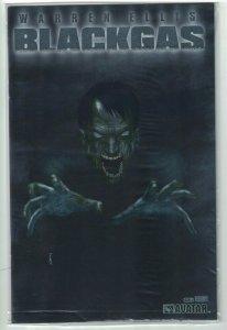 Blackgas #1 VF/NM platinum foil variant sealed w/COA limited to 800 Warren Ellis