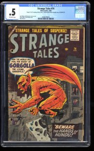 Strange Tales #74 CGC P 0.5