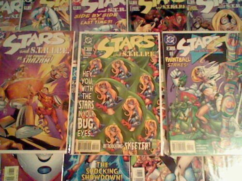 Complete run! Stars and STRIPE 0,1 - 14 DC Comics, 1st appearance of Stargirl,
