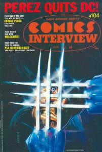 Comics Interview #104 FN; Fictioneer   save on shipping - details inside