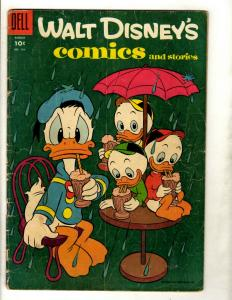 10 Walt Disney Comics & Stories # 179 180 185 186 187 190 191 192 193 194 JK3