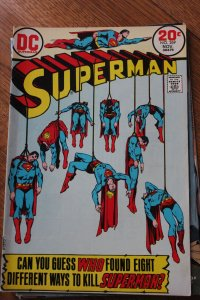 SUPERMAN #269 (DC, 1973) Condition: FN