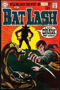 BAT LASH #5-1969-DC WESTERN-very good VG