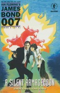 James Bond 007: A Silent Armageddon #1 VF/NM; Dark Horse   save on shipping - de