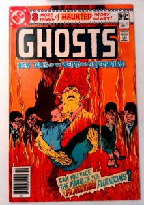 Ghosts #93 DC 1980 VF+ Bronze Age Comic Book 1st Print