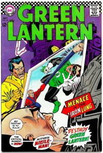 GREEN LANTERN #54 (July1967) 9.0 VF/NM ★ Gil Kane at the Top of His Game!!